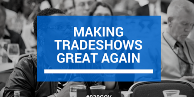 Image of people at tradeshows 930GOV | DGI