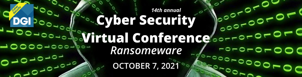 Conference: Cyber Security Virtual Conference - October 7, 2021 1