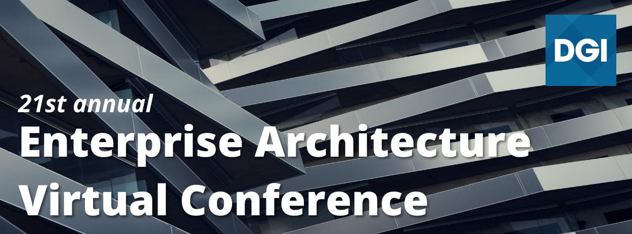Conference: Enterprise Architecture Virtual Conference - April 2022